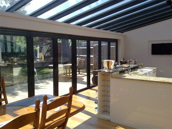 Stunning Kitchen Extension Roof Designs Pictures   Image Design .